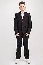 Підлітковий шкільний костюм чорного кольору
