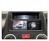 Автомагнітола 1din з екраном Bluetooth \ USB \ micro SD \ FM, фото 4