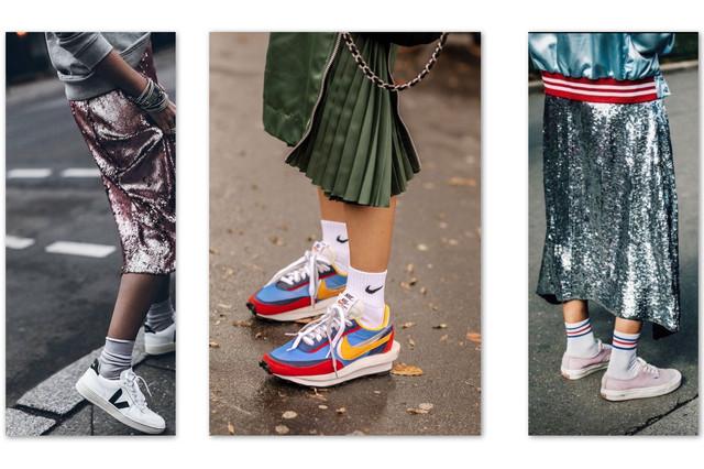 Кроссовки и носки