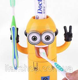 Держатель для зубных щеток Миньен Дозатор Миньон