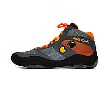 Борцовки Shuzoyd Wrestling Shoes, Grey/Orange
