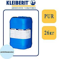 Kleiberit 433.6 1К/2К ПУР-дисперсия для 3D прессования, вязкая, голубая   26 кг  