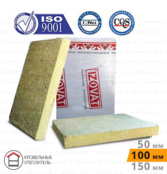 Izovat LS (30) (Ізоват ЛЗ) 100 мм (Упаковка - 3 м. кв) покрівельний базальтовий утеплювач, АКЦІЯ!