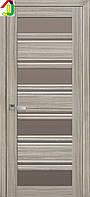 Дверь межкомнатная Новый стиль Венеция С2 ПВХ Итальяно жемчуг магика  стекло BR