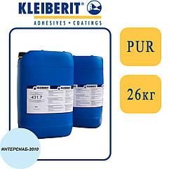 Kleiberit 431.7 1К   +120°С   ПУР-дисперсия, отлично для High Gloss пленок   26 кг  