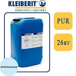 Kleiberit 432.4 1К/2К ПУР-дисперсия для 3D прессования, низковязкая, белая   26 кг  