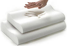 Ортопедическая подушка Comfort Memory Pillow с наволочкой, подушка с памятью, фото 3
