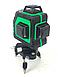 Профессиональный лазерный уровень AL-FA ALNL-3DG лазерный нивелир, фото 5