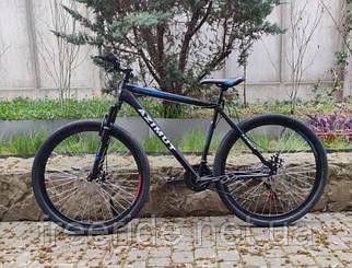 Горный Велосипед Azimut Energy 26 D (21) черно-синий