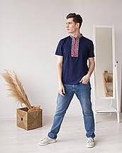 Чоловіча вишита футболка з орнаментом, фото 3