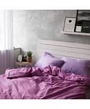 """Комплект двуспальный постельного белья ТМ """"Ловец снов"""", Фиолетовое, фото 2"""