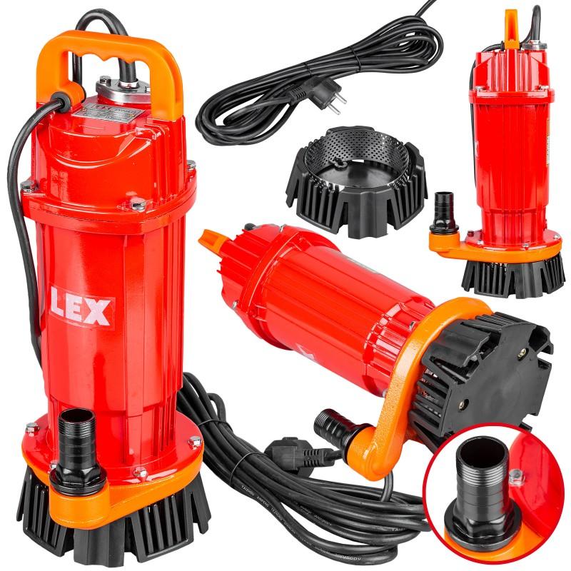 Погружной насос LXQDX12 с фильтром для чистой и грязной воды насос для води