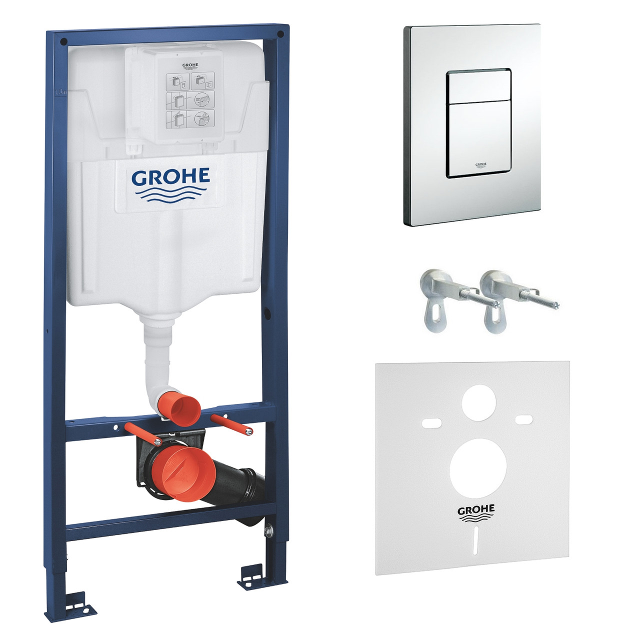 Инсталляция для унитаза Grohe Rapid SL комплект 3 в 1 38772001