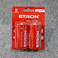 Батарейки ETRON D LR20 alkaline
