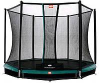 Батут BERG InGround Talent 8 Ft 240 Green + Safety Net Comfort (35.28.47.00+35.75.28.00) 35.28.10.00