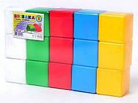 Кубики 1691 Веселка 2 ТехноК, фото 1