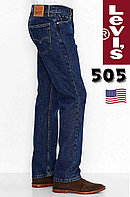 Джинсы Levi's 505 / W30xL32 / Dark Stone - 4886 /Regular Fit/100% хлопок / из США