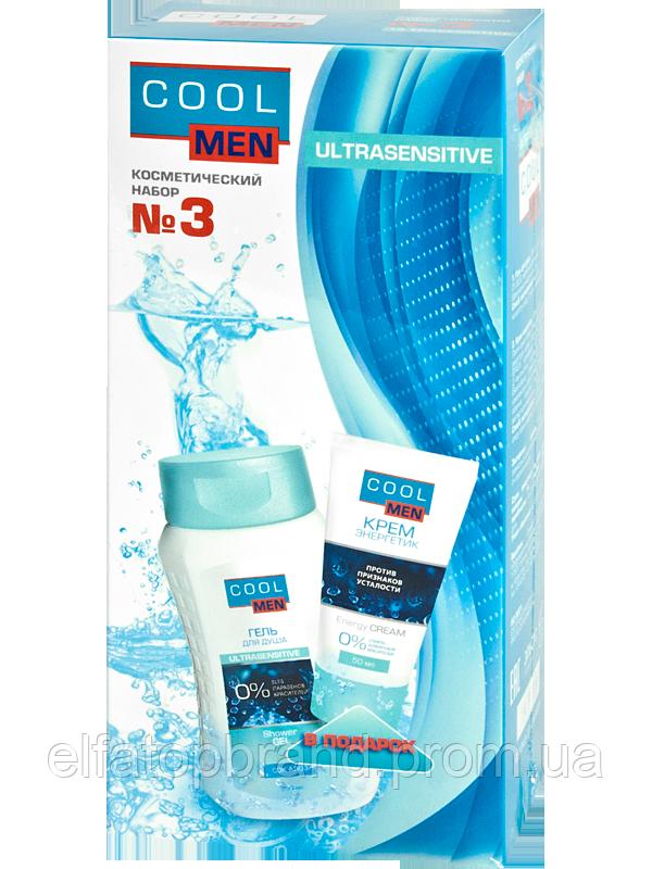 "Подарочный набор № 3 Ultrasensinive от ТМ ""Cool Men"""