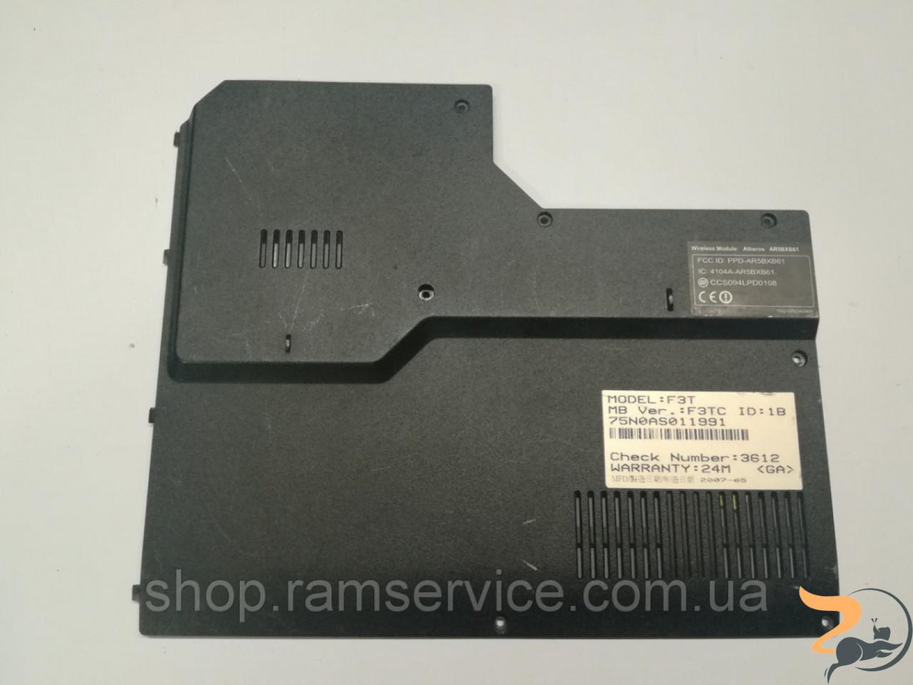 Сервісна кришка для ноутбука Asus F3T, F3J. Без пошкоджень.