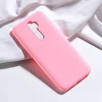 Чехол Soft Touch для Oppo A5 2020 силикон бампер светло-розовый