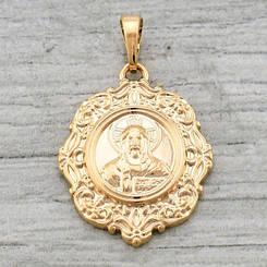 Ладанка Xuping Jewelry 1283, медицинское золото, позолота 18К. А/В 1283