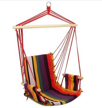 Гамак крісло, міцний, натуральний, гамак, з планками, з підлокітниками