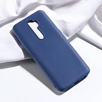 Чехол Soft Touch для Oppo A9 2020 силикон бампер темно-синий