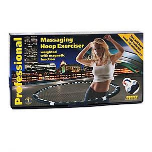 Обруч Hula Hoop с магнитами Massaging exerciser Магнитный обруч Хула хуп, фото 2