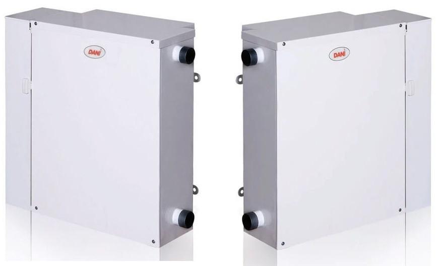 Парапетні газові котли DANI (ДАНИНИ) АОГВ-7,4 ліве і праве виконання