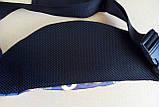 Поясная сумка Бананка сумка на пояс тканевая с ярким принтом молодежная, фото 3