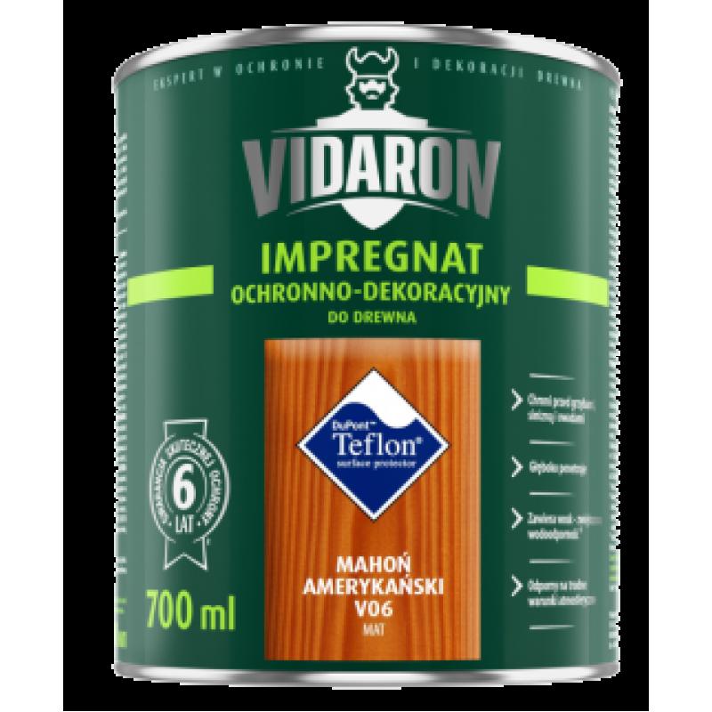 Видарон импрегнат Vidaron impregnat 0,7л американское красное дерево v06