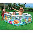 Детский надувной бассейн Intex 56493 океанский риф ( 541 литр), фото 3