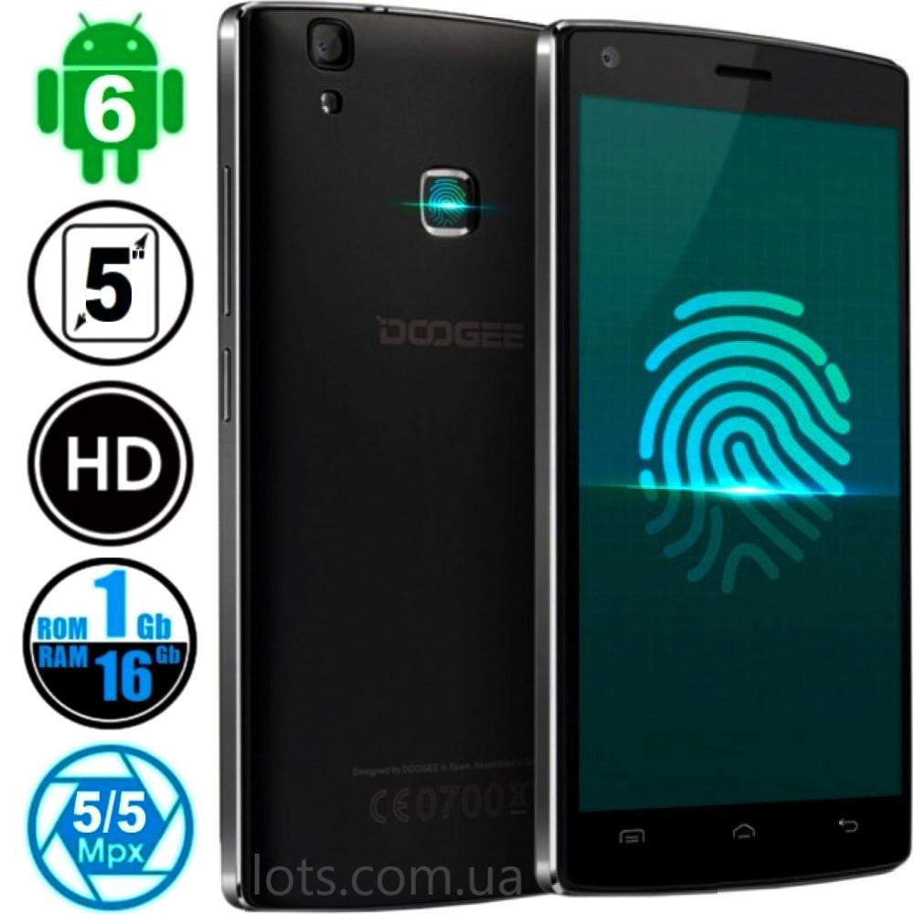Смартфон Doogee X5 Max Black - Сканер Отпечатков