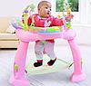 Игровой развивающий центр Hola Toys Музыкальный стульчик, розовый (696-Pink), фото 3