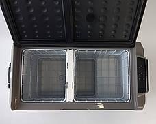 Компрессорный автохолодильник, автоморозильник Altair Т60 (60 литров). До -20 °С. 12/24/220V, фото 2
