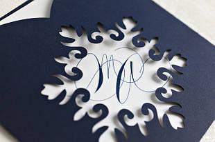 Пригласительные для зимних свадеб