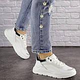 Женские белые кроссовки Wackey, фото 3