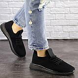 Женские черные кроссовки Naya, фото 3