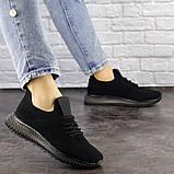 Женские черные кроссовки Naya, фото 4