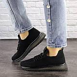 Женские черные кроссовки Naya, фото 6