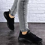 Женские черные кроссовки Ninou, фото 2