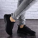 Женские черные кроссовки Ninou, фото 3
