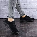Женские черные кроссовки Ninou, фото 4