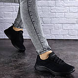 Женские черные кроссовки Ninou, фото 5
