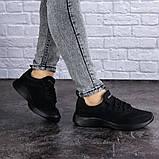Женские черные кроссовки Ninou, фото 7