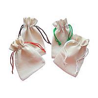 Тканевые мешочки из двунитки