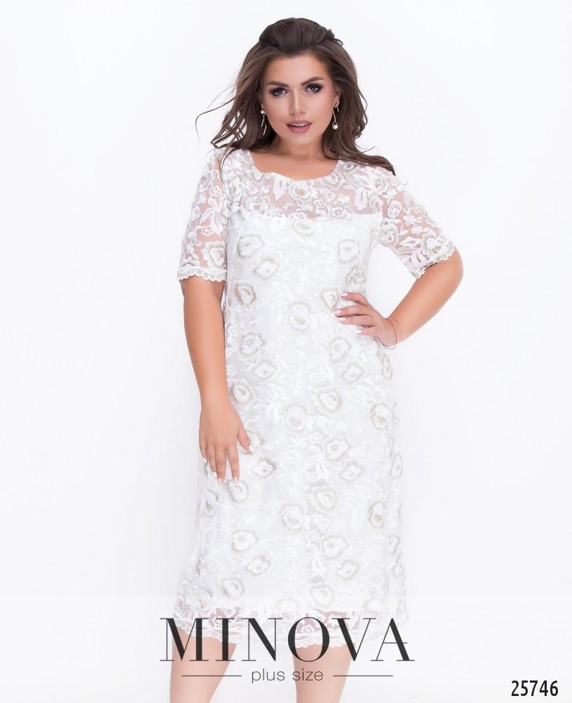 Платье №18-32-молочный