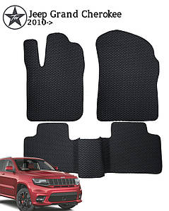 Коврики EVA в салон Jeep Grand Cherokee 2011-. Star-Tex. 5 шт.