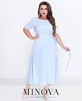 Сукня №18-22-блакитний