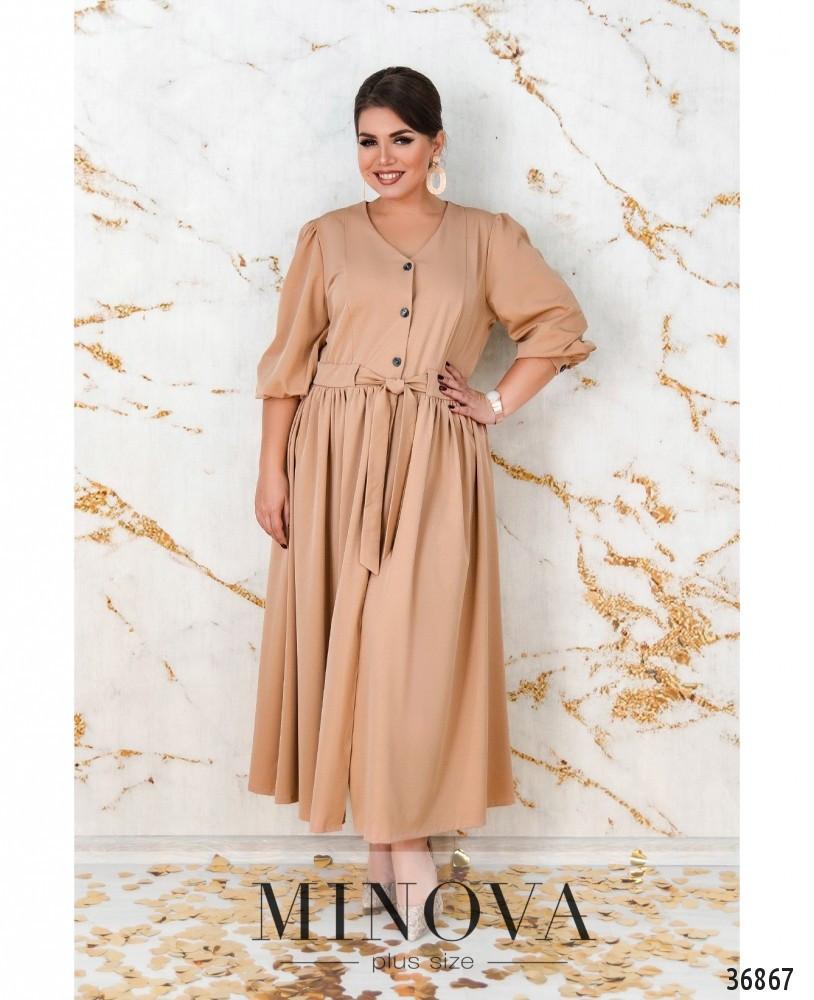 Платье №3257-песок